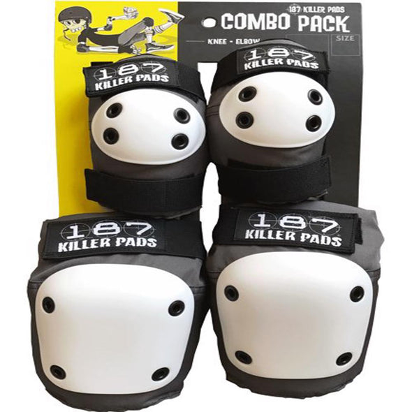 187 Killer Pads Unisex Combo Pack CPXS107 - The Smooth Shop