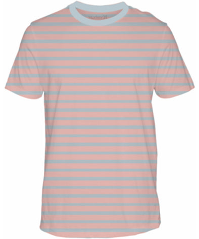 Hurely Mens Bold Stripe T-Shirt - The Smooth Shop