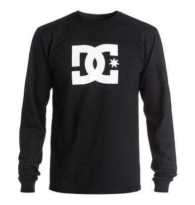 DC Mens Star Long Sleeve T-Shirt ADYZT03412 - The Smooth Shop