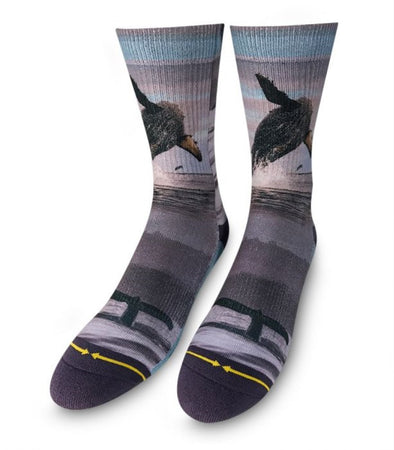 Merge 4 Mens Whale Socks DN1217 - The Smooth Shop