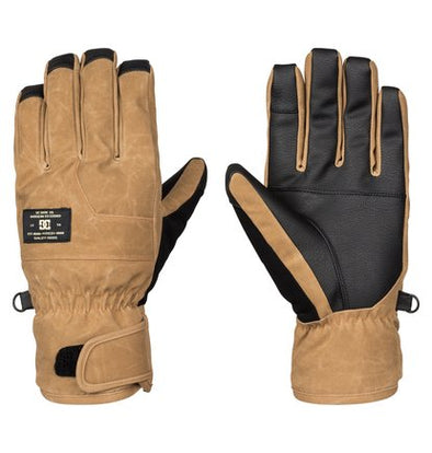 DC Shoes Mens Seger SE Snow Gloves EDYHN03014,Dull Gold,M - The Smooth Shop