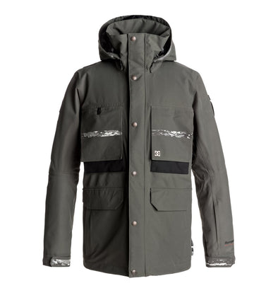 DC Shoes Mens Company SPT Snow Jacket EDYTJ03037 - The Smooth Shop