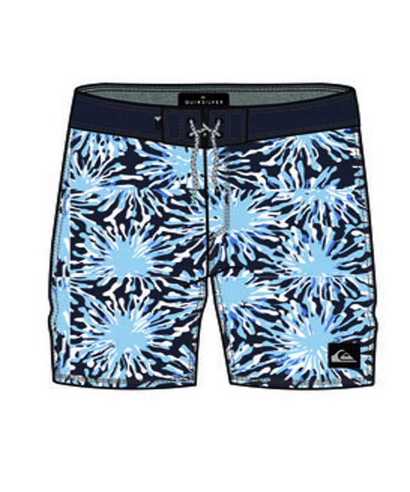 "Quiksilver Boys Everyday Fireworks 18"" Boardshorts - The Smooth Shop"