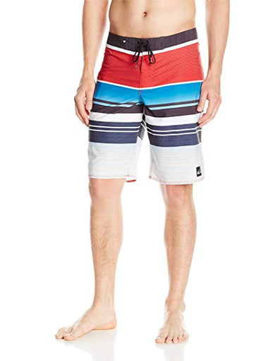 "Quiksilver MensEveryday Stripe Vee 21"" Boardshorts EQYBS03575 - The Smooth Shop"