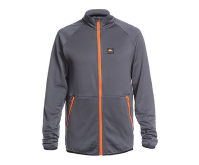Quiksilver Mens Steep Point Technical Zip Up Fleece - The Smooth Shop
