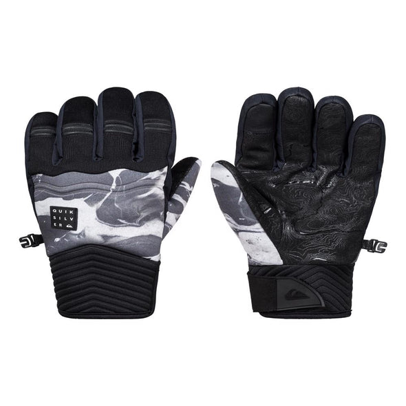 Quiksilver Mens Method Ski/Snowboard Gloves EQYHN03108 - The Smooth Shop