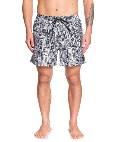 "Quiksilver Mens Voodoo 17"" Volley Shorts - The Smooth Shop"
