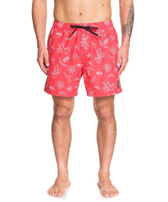 "Quiksilver Mens Southern Dream 17"" Volley Shorts - The Smooth Shop"