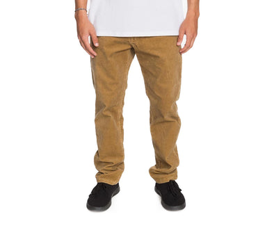 Quiksilver Mens Kracker Straight Fit Corduroy Pants - The Smooth Shop