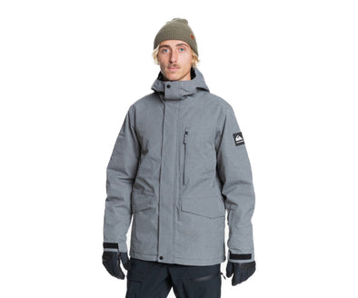 Quiksilver Mens Mission Solid Snow Jacket - The Smooth Shop