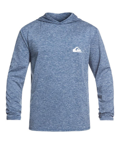 Quiksilver Mens Dredge Long Sleeve UPF 50 Hooded Surf T-Shirt - The Smooth Shop
