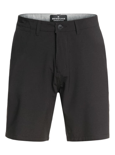 "Quiksilver Men Twill Amphibian 20"" Boardshorts EQYWS03370,Black,36 - The Smooth Shop"