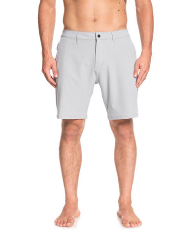 "Quiksilver Mens Navigate 20"" Amphibian Boardshorts, Sleet, 32 - The Smooth Shop"