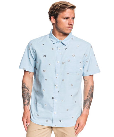 Quiksilver Mens Faded Sun Short Sleeve Shirt - The Smooth Shop
