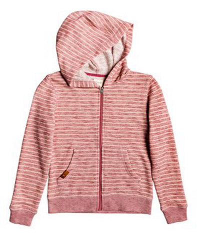 Roxy Girls Lighter Day Zip Up Hoodie - The Smooth Shop