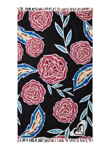 Roxy Womens Sunset Time Beach Towel ERJAA03375