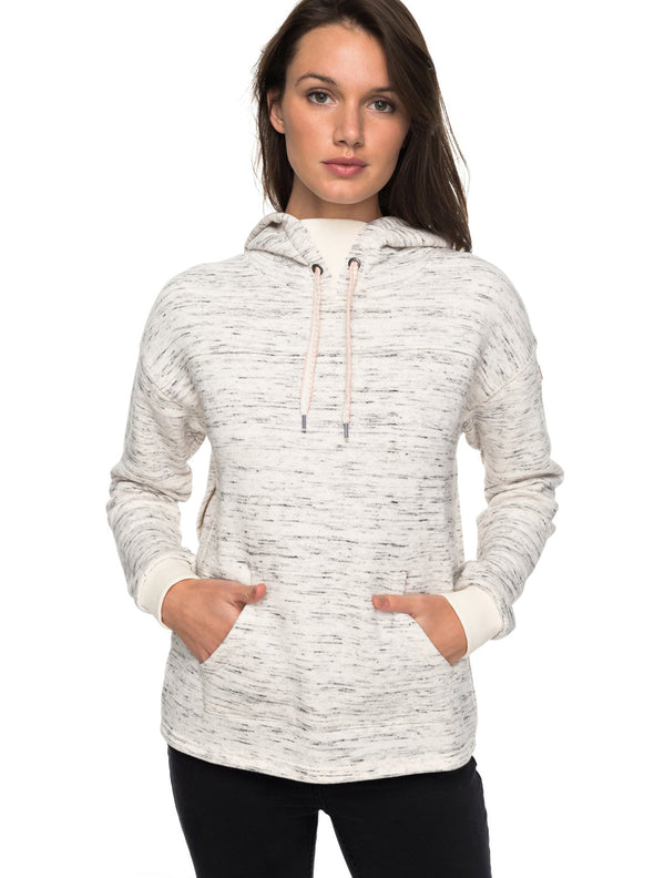 Roxy Womens Greatest Glory Pullover Split Back Hoodie ERJFT03693 - The Smooth Shop