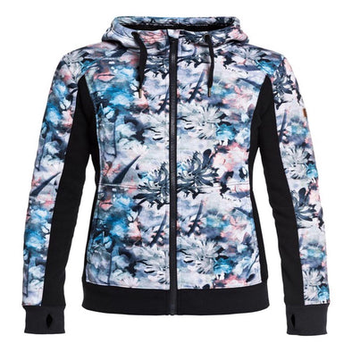 Roxy Womens Frost Technical Zip Up Hoodie ERJFT03745 - The Smooth Shop