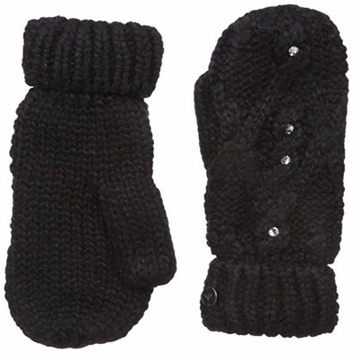 Roxy Womens Shooting Star Mittens ERJHN03049,True Black,OFA - The Smooth Shop
