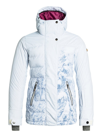 Roxy Womens Torah Bright Crystalized Printed Snowboard Jacket ERJTJ03030 - The Smooth Shop