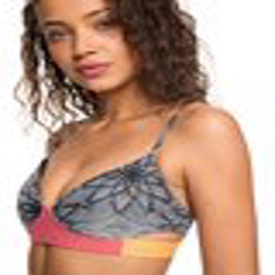 Roxy Womens Pop Surf Bra Bikini Top ERJX303745 - The Smooth Shop