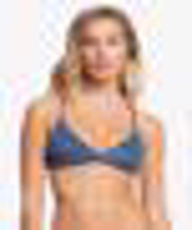 Roxy Womens Printed Beach Classics Athletic Bikini Top - The Smooth Shop