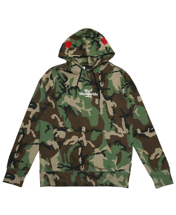 Huf Mens Ambush Pullover Hoodie - The Smooth Shop