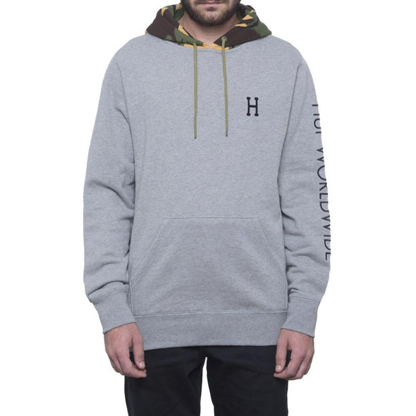 Huf Mens Voyage French Terry Pullover Hoodie FL00061 - The Smooth Shop