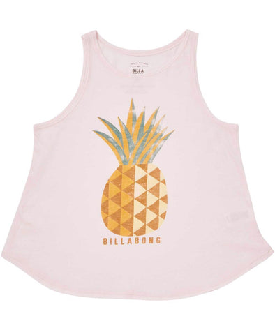 Billabong Girls Sunny Pineapple Tank - The Smooth Shop