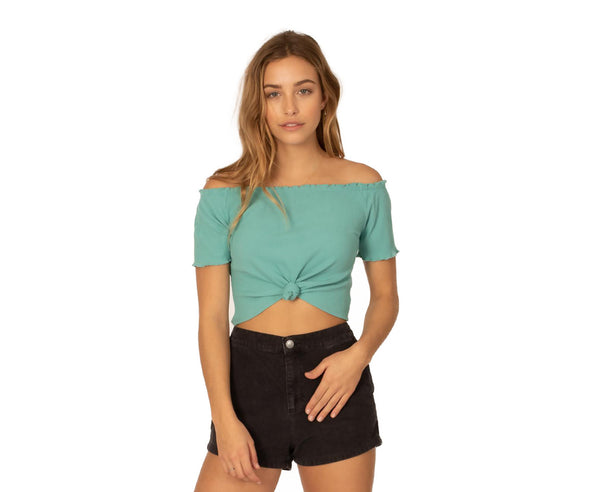 Sisstrevolution Womens All The Frills Knit Top - The Smooth Shop