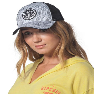 Rip Curl Womens Diamond Head Trucker Hat GCABM7 - The Smooth Shop