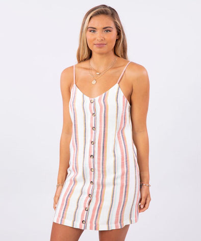 Rip Curl Womens Seaport Stripe Dress - The Smooth Shop