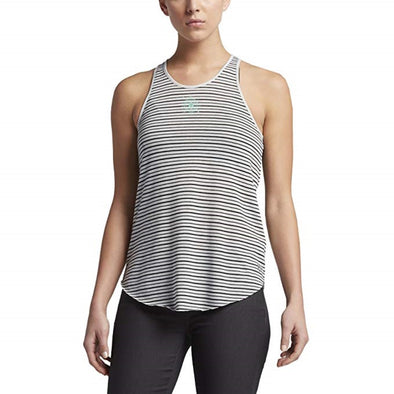 Hurley Womens Moonrise Tank Top GTK0004250, Black, L - The Smooth Shop