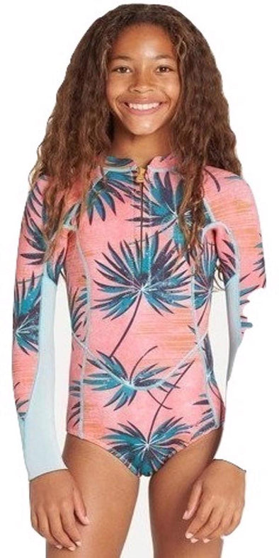 Billabong Girls Salty Dayz Long Sleeve Spring Suit - The Smooth Shop
