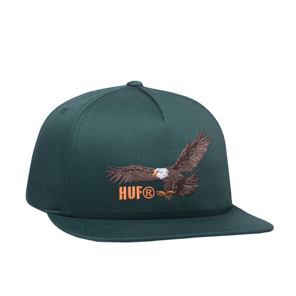 Huf Mens Wing Span Snapback Hat - The Smooth Shop