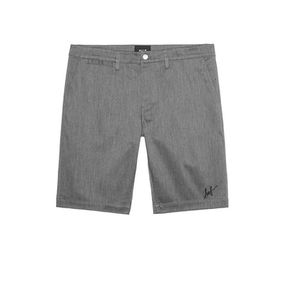 Huf Mens Fulton Chino Slim Short PT61012,Charcoal Heather,34 - The Smooth Shop