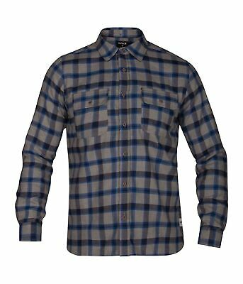 Hurley Mens Cortez Long Sleeve Shirt MVS0004190 - The Smooth Shop