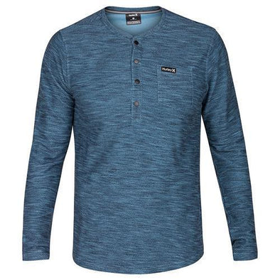 Hurley Mens Rivers Henley MKT0006200 - The Smooth Shop