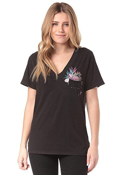 Hurley Womens Overgrown Perfect V T-Shirt AA1145 - The Smooth Shop