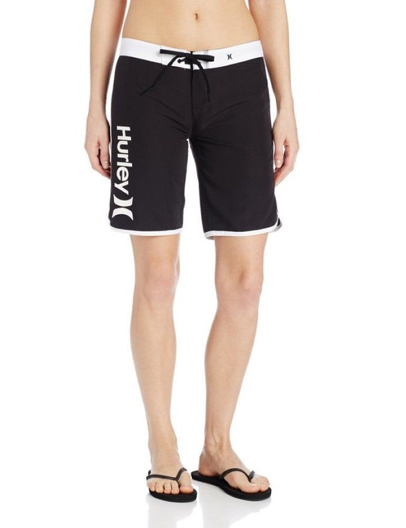 "Hurley Womens Supersuede Solid 9"" Beachrider Boardshorts GBS0000910 - The Smooth Shop"