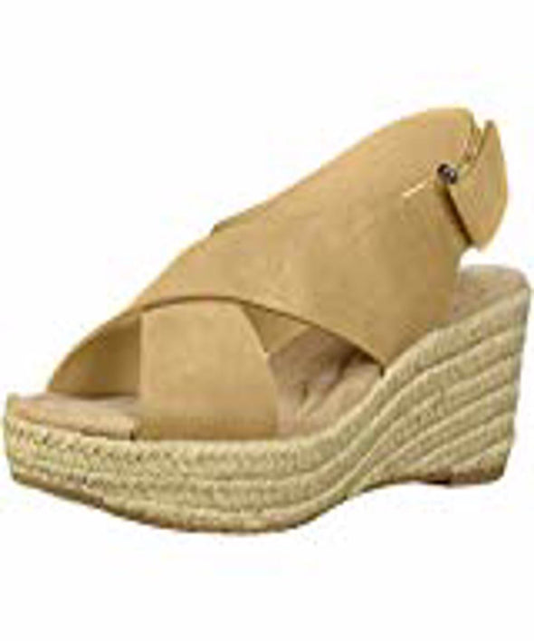 Chinese Laundry Womens Dream Too Wedge Sandals, Nude, 7.5 - The Smooth Shop