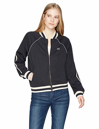 Billabong Womens Locals Only Track Jacket J604NBLO - The Smooth Shop