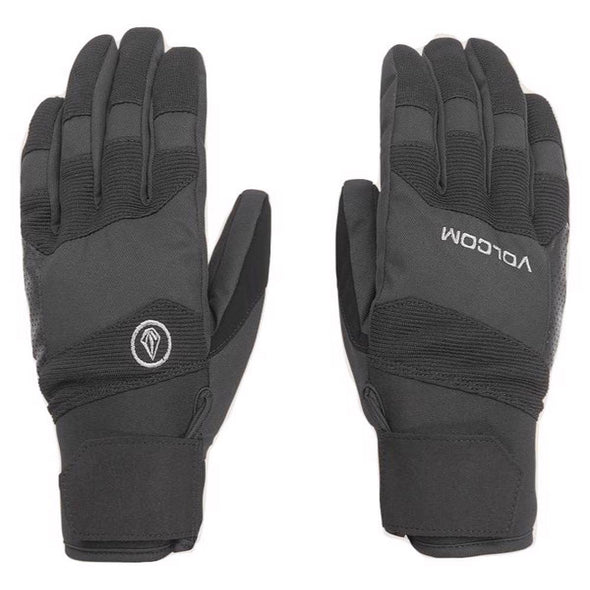 Volcom Mens Crail Glove, Black, L - The Smooth Shop