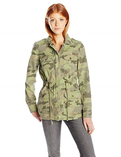 Billabong Womens Cant See Me Camo Jacket J709HCAN - The Smooth Shop