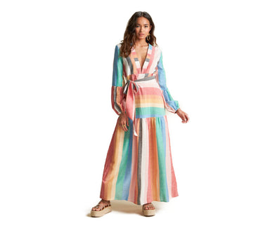 Billabong Womens Sincerely Jules Mix It Up Maxi Dress - The Smooth Shop