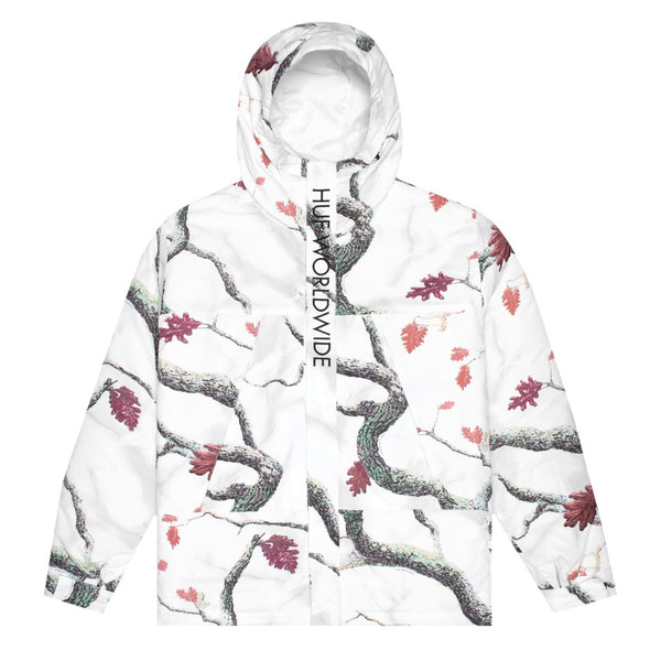 Huf Mens Avalanche Parka, White, XXL - The Smooth Shop