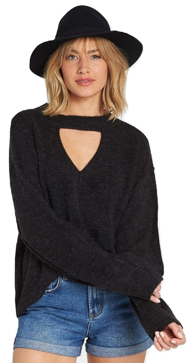 Billabong Womens Without A Crew Sweater - The Smooth Shop