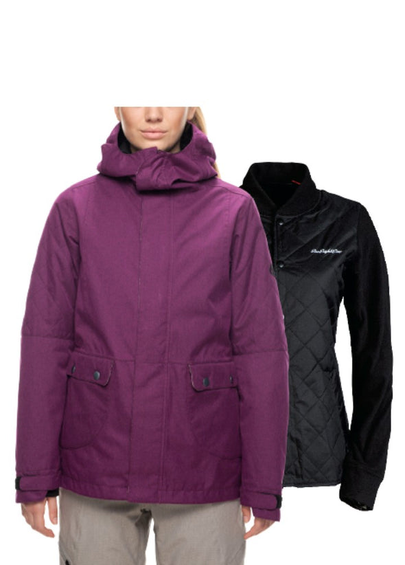 686 Womens Smarty Aries Insulated Jacket L7W307 - The Smooth Shop