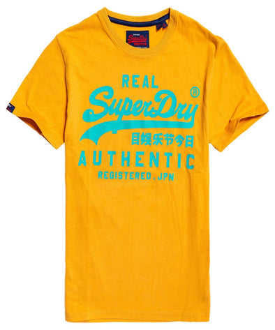 Superdry Mens Vintage Authentic Fluro T-Shirt - The Smooth Shop