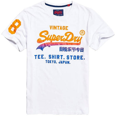Superdry Mens Shirt Shop Fade T-Shirt - The Smooth Shop